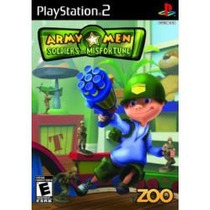 Jogo Pra Ps2 Army Men Soldiers Of Misfortune Lacrado Raro