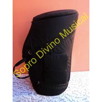 Capa Extra Luxo Para Tuba Sinfônica 4/4 4 Rotores