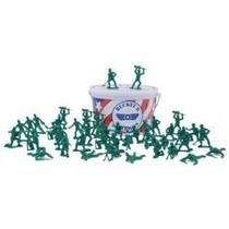 Balde Com 55 Soldados Toy Story Soldadinhos Alto Padrão Lj