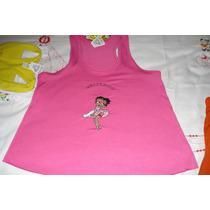 Camisas E Camisetas Bordada Da Betty Boop P/ Presente