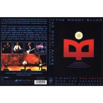 Dvd The Moody Blues - A Night At Red Rocks - Novo Lacrado