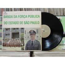 Banda Força Pública Estado De São Paulo- Lp Continental 1970
