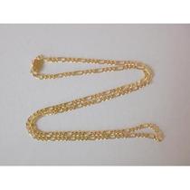 Corrente Elos Grumet 3x1 23 Gramas Ouro Amarelo 18k 750
