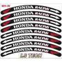 Honda Racing Friso Adesivo Aro Roda Moto Novidade I.s Tech