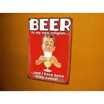 Placas Quadros Decorativas Vintage Cervejas E Outras