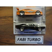 Hot Wheels - Velozes E Furiosos Dodge Charger X Toyota Supra