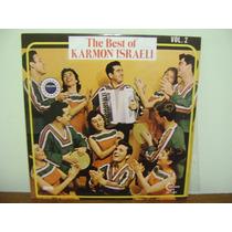 Disco Antigo Lp Vinil The Best Of Karmon Israeli - 1976