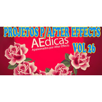 Projetos Para After Effects Editáveis Volume 26