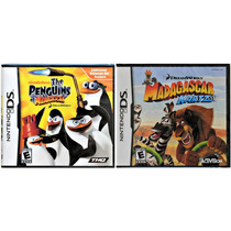 The Peguins Of Madagascar E Kartz Ds Americano L A C R A D O