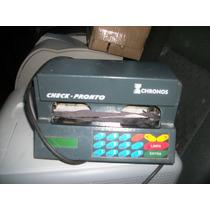 Otima Impressora De Cheque Chronos Perfeita Com Nota Fiscal