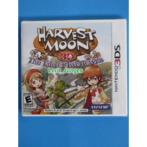 Harvest Moon 3d The Tale Of Two Towns - Nintendo 3ds Lacrado