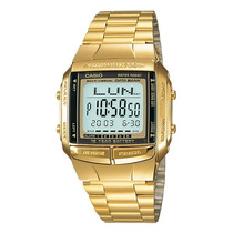 Relógio Casio Db 360 Dourado Retro Databank 30 Tel 5 Alar.