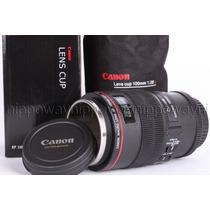 Copo Caneca Canon Lente Macro 100mm 2.8 L Cup Lens Aluminio