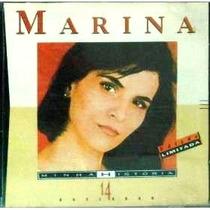 Cd Marina Lima - Minha História (14 Sucessos Originais)