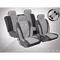 Capa Banco Carro + Capa De Volante + Cinto + 5 Encostos
