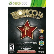 Jogo Novo Ntsc Lacrado Xbox 360 Tropico 4 Gold Edition