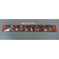 Emblema Power - Gol Power 2008 Lateral - Mmf Auto Parts