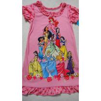 Camisola Princesas 4 Anos Importada Disney Infantil