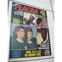 Placar Nº 243: Poster Vasco Da Gama - Pace - Grêmio - 1974