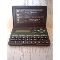 Agenda Eletronica Casio Data Bank Dc-3000