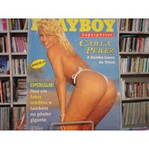 Playboy Superpôster Carla Perez - Pôster Gigante Raríssimo!!