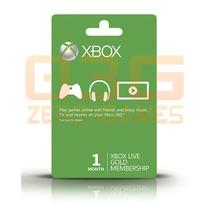 Xbox Live Gold Brasil Br, Usa - Cartão 1 Mês Envio Imediato!