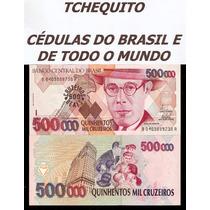 Brasil - 500 Cruzeiros Reais - C237 - Fe - Cédula