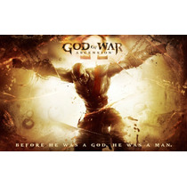 God Of War Ascension - Steelbook Capa De Metal Colecionador