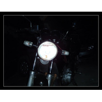Lampada Dupla Super Branca Efeito Xenom H6 Biz 35w 35w 5000k