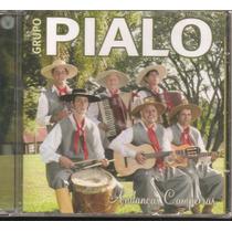 Cd - Gaúcho - Novo - Grupo Pialo - Andanças Campeiras