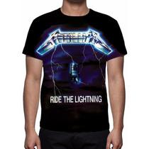 Camisa, Camiseta Metallica - Ride The Lightning