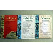 3 Revistas Seleções Do Reader´s Digest / 1969