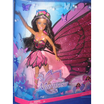 Barbie Butterfly Mariposa - Rara Com Enormes Asas