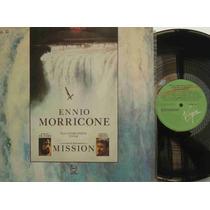 Ennio Morricone Lp Nacional Usado The Mission 1986 A Missão