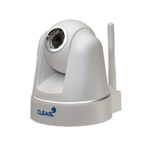 Clear Câmera Ip , 300k Pixels, M-jpeg, Pan/tilt, Wireless