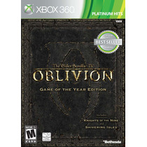 Jogo The Elder Scrolls Iv Oblivion Game Of The Year Xbox 360