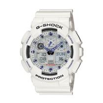 Relógio Casio G-shock Ga 100 Wr-200 5 Alarmes Hora Mundial B