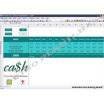 Fluxo De Caixa E Planilha De Planejamento Financeiro