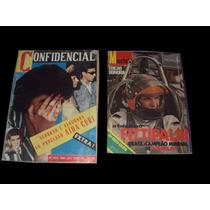 Raro Revistas Manchete Sonora Com Disco De Vinil Fittipaldi