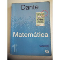 Matemática Dante Volume 1 2006