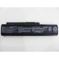 Bateria Toshiba Satellite U300 11v 130 134 13i 13j 13k 13l