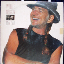 Lp Willie Nelson * Me & Paul - Discos Cbs - 1985 Stéreo