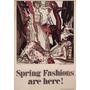 Moda Primavera Chic Roupas Mulheres Poster Repro