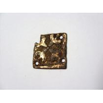 Rara Peça Decorativa Medieval Século Xiii-xiv Banho De Ouro