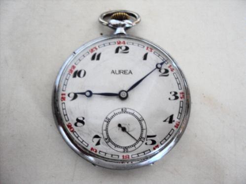 e0fd441e01d Relógio De Bolso Antigo Suíço Aurea