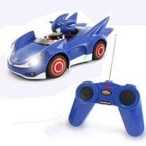 Veículo Sonic Sega All Star Racing Com Boneco Sonic Lindo !!