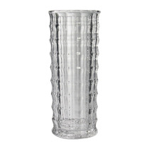 Vaso Pipe Dresden Grande Transparente Em Vidro - 30x12,5 Cm