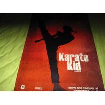 Poster/cartaz Oficial Do Filme Karatê Kid 2010