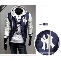 Jaqueta Masculina Varsity Baseball College - Ny Yankees