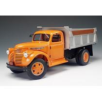 Mini Caminhão Chevrolet Dump Basculante 1946 1:16 Highway 61